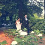 outdoor wedding ceremony at Milton Park