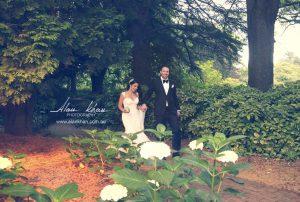 outdoor wedding ceremony at Milton Park