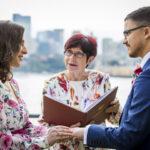 wedding ceremony Sydney harbour
