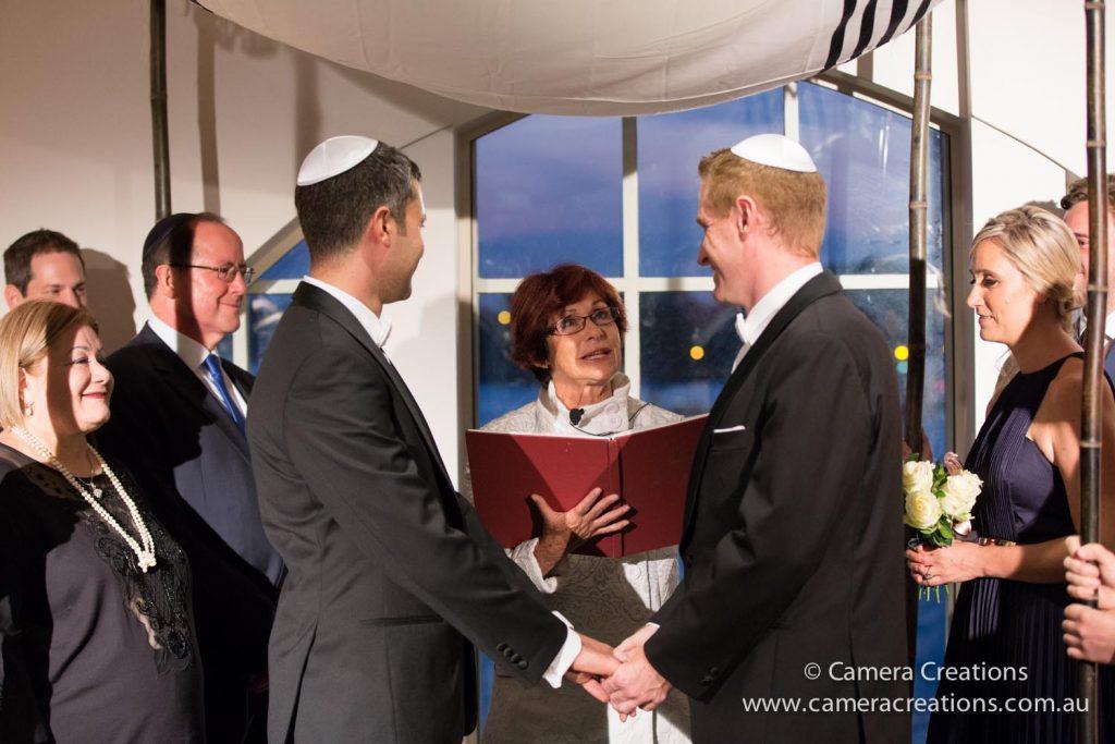happy same sex wedding